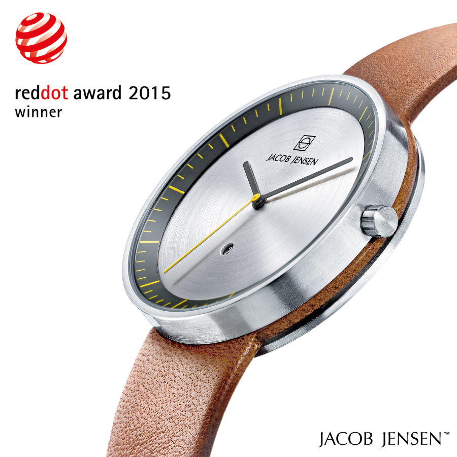 Jacob Jensen horloge red dot award