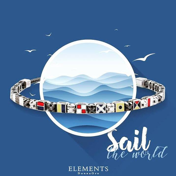 Sail Elements Donna Oro bedelarmband